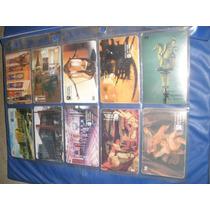 Cartoes De Telefone Serie Museu