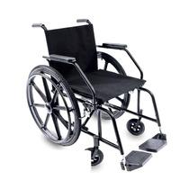 Cadeira De Rodas Modelo Pl5001/5002 Semiobeso 100kg Prolife