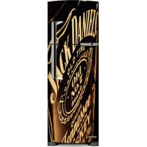 Adesivo Geladeira Jack Daniels Old Time # 14 (porta Duplex)