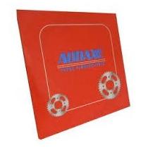 Relação Kit Transmissão Shineray Phoenix 50 2011 Aço 1045