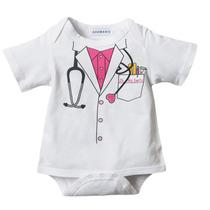 Body Bore Bori Roupinha Bebê Enfermeira Engraçada Médica