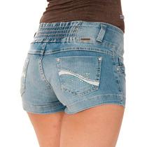 Shorts Jeans Sawary Temos Modela Levant Bumbum Hot Pants 237
