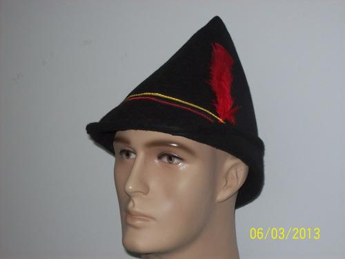 Chapéu Típico Germânico Robin Hood Traje Tipico a5c6640e99e