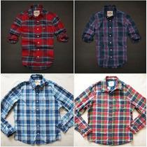 Camisa Blusa Manga Comprida Xadrez Hollister Abercrombie