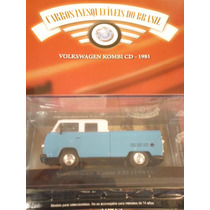 Coleção Carros Inesquecíveis Edição 66 Volkswagen Kombi Cd