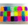 Rainbow Loom - Pulseira 5000 Elásticos + Caixa Organizadora