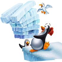 Pinguim Tremelik - Pilha De Blocos Vibrante - Dtc 3556