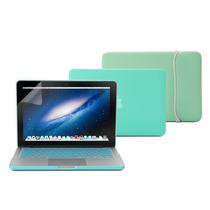 Kit 4x1 Capa Case Protetor Teclado Macbook Pro Retina 13