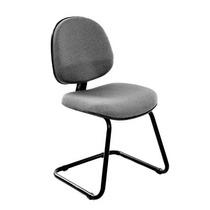 Cadeira Escritório Fixa Executiva Ag20- Cinza - J.serrano
