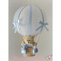 Luminária Lustre Balão Para Quarto Bebê Ou Infantil - Urso