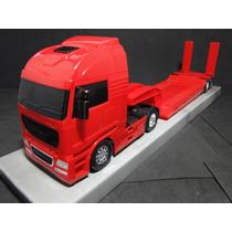 Caminhão Prancha 02 Eixos 62 Cm Comprimento 11 Cm Largura