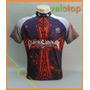Camisa Velotop Black Sabbath Para Ciclismo