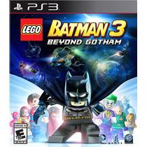 Lego Batman 3: Beyond Gotham Ps3 Portugues Original Lacrado