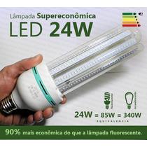 Lâmpada Led 24w 4u Super Econômica Branca 6000k E27 Bivolt