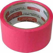 Fita Adesiva Entelagem Rosa Choque 48mm X 50m - Fitpel