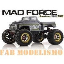 Automodelo Kyosho Mad Force Ve 2.0 Monster 1/8 Eletrica Nova