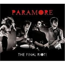 Cd Paramore The Final Riot! (cd+dvd)