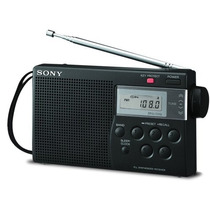Radio Portátil Digital Sony Am/fm Icf-m260 Memória E Sleep