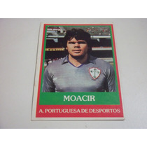 Moacir - Ping Pong Futebol Cards - Nº 75 - Portuguesa