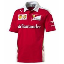 Nova Polo Scuderia Ferrari F1 Team 2016 - Pronta Entrega