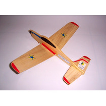 Kit Aeromodelo Planador Tucano Pronto Para Voar!
