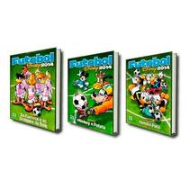 Gibi Futebol Disney 2014 Coleção Completa 3 Revistas Novas