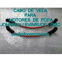 Cabo De Vela Motor De Popa Johnson Evinrude Omc 15 Hp