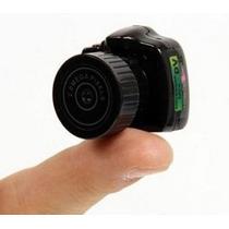 Mini Micro Câmera Espiã Filmadora Camuflada Sem Fio