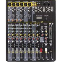 Mesa De Som 12 Canais Skp Vz12.4 Usb, Efeitos & Phantom