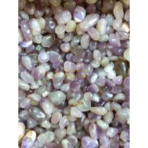 Pedras Roladas Ametista 1 Kg Semi Preciosas 2 A 4 Cm
