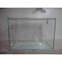 Aquario Alto Para Peixe Retangular 50 Com 25 Lar 35 Alt