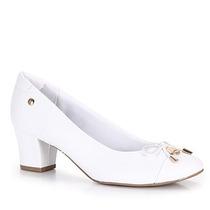 Sapato Salto Conforto Feminino Usaflex By Perfetto - Branco