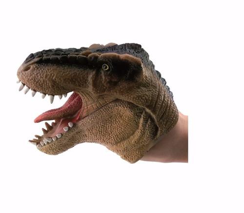 Comprar Boneco Dinossauro Fantoche Marron Dtc Apenas R 29 80 Aprender Para Vencer