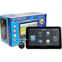 Gps Foston Fs-3d717 Câmera Re -tv Digital -trans.fm- 4gb-3d
