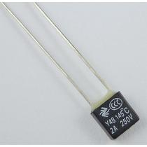 Fusível Térmico Para Ventilador - 145ºc, 2a. 250v
