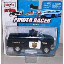 Viatura Policial Maisto Power Racer