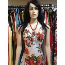 Vestido Longo Floral Imdiano