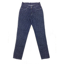 Calça Jeans Feminina Blue Com Estampa Jacar (plus Size)