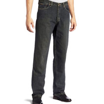 Lee Premium Relaxed Calça Jeans Masculina Tamanho 42 Br