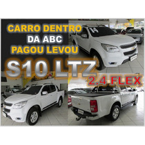 S10 Ltz 2.4 Flex Cabine Dupla Ano 2014 - Financiamento Facil