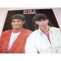 Lp Vinil Alan E Aladim.sertanejo De 1981.