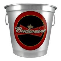 Balde De Gelo Personalizado - Budweiser - Garrafa - Lata