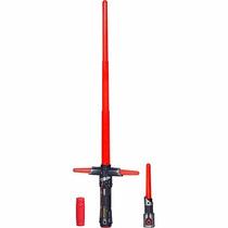Kylo Ren Sabre De Luz Star Wars Eletrônico - Hasbrob2948
