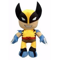 Boneco Wolverine Em Pelúcia Antialérgica 45 Cm Altura