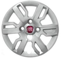 Calota Uno Way 2014 Aro 13 Emblema Fiat Personalizado Nova!!