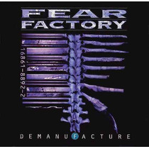 Cd Fear Factory - Demanufacture/ Remanufature Digypack Duplo