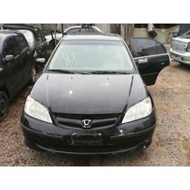 Sucata Honda Civic 2004 1.7 - Motor Câmbio Peças Acessórios
