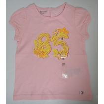 Tommy Hilfiger Camiseta Infantil Tamanho 18 Meses