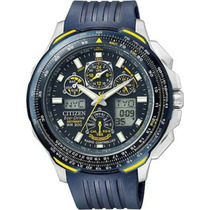 Relógio Citizen Skyhawk Eco-drive Jy0064-00l / Tz10048j *rad