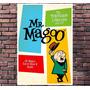 Poster Exclusivo Mr Magoo Hanna Barbera Cartoon Retro 30x42